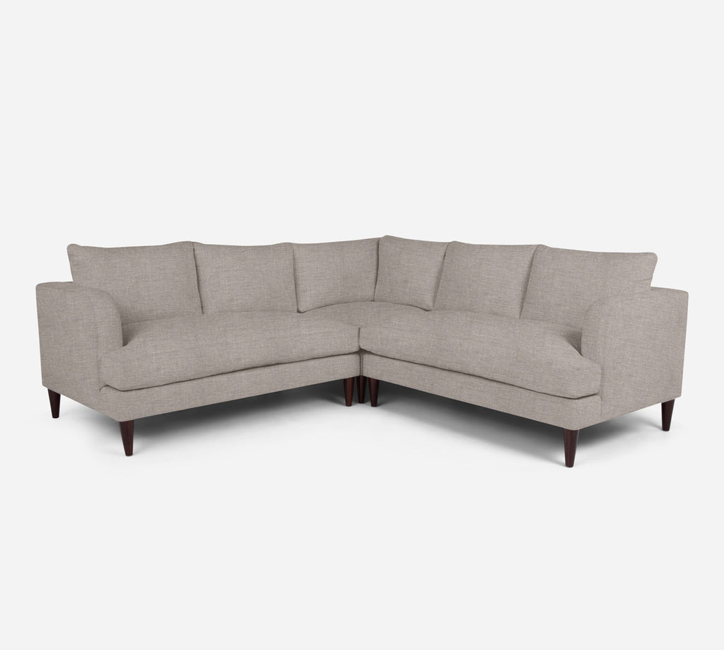 Cybil Corner Sectional - Key Largo - Almond