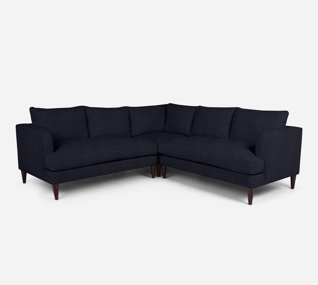 Cybil Corner Sectional - Stardust - Midnight