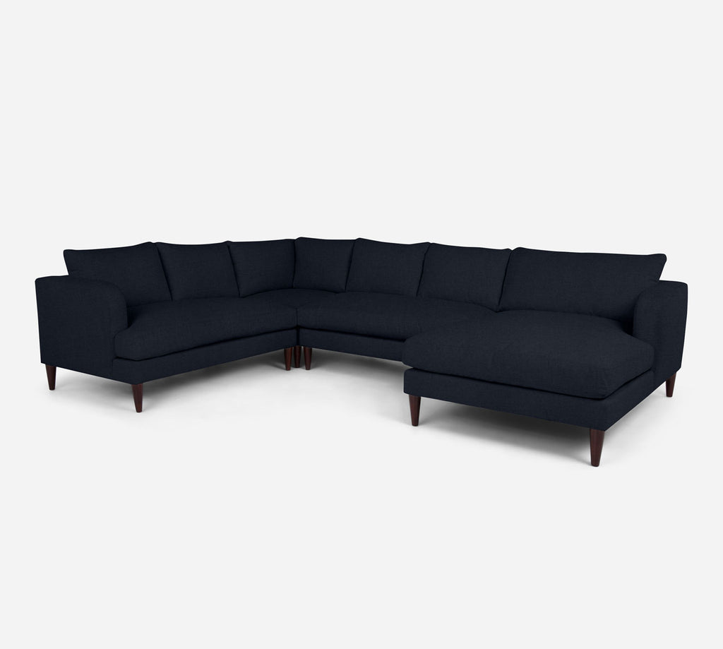 Cybil RAF Chaise Corner Sectional - Coastal - Sailor