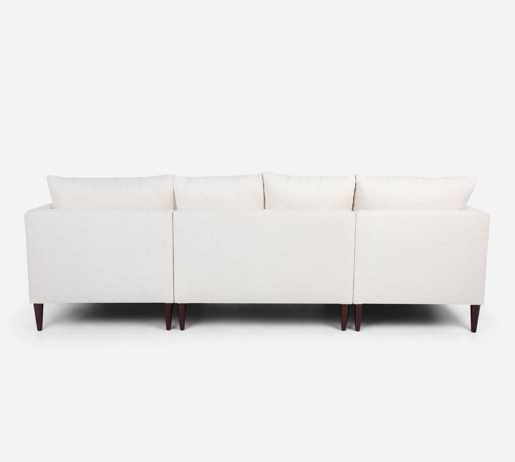 Cybil RAF Chaise Corner Sectional - Heritage - Ivory