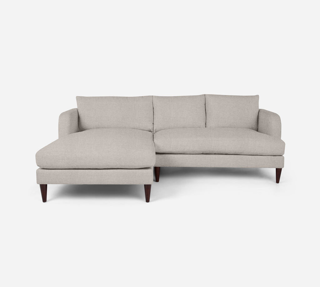 Cybil RAF Sectional Apt Sofa w/ Chaise - Coastal - Sand