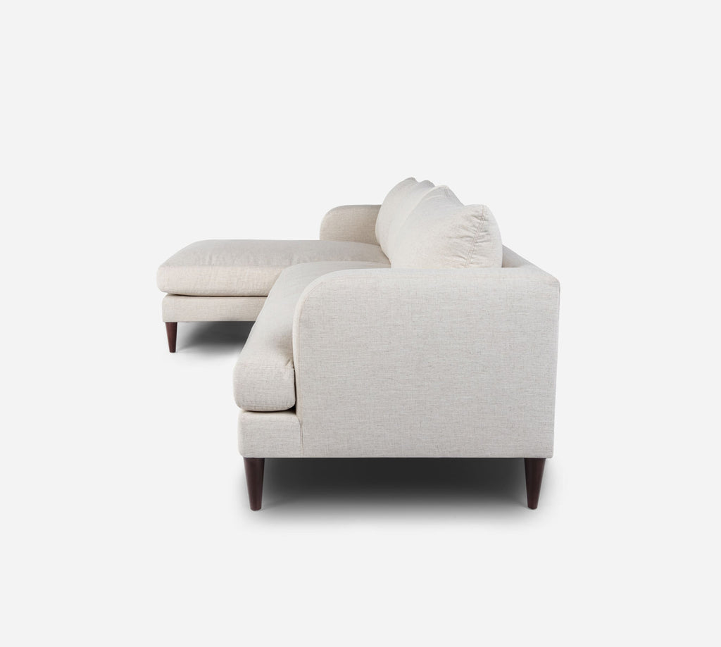 Cybil RAF Sectional Apt Sofa w/ Chaise - Heritage - Ivory