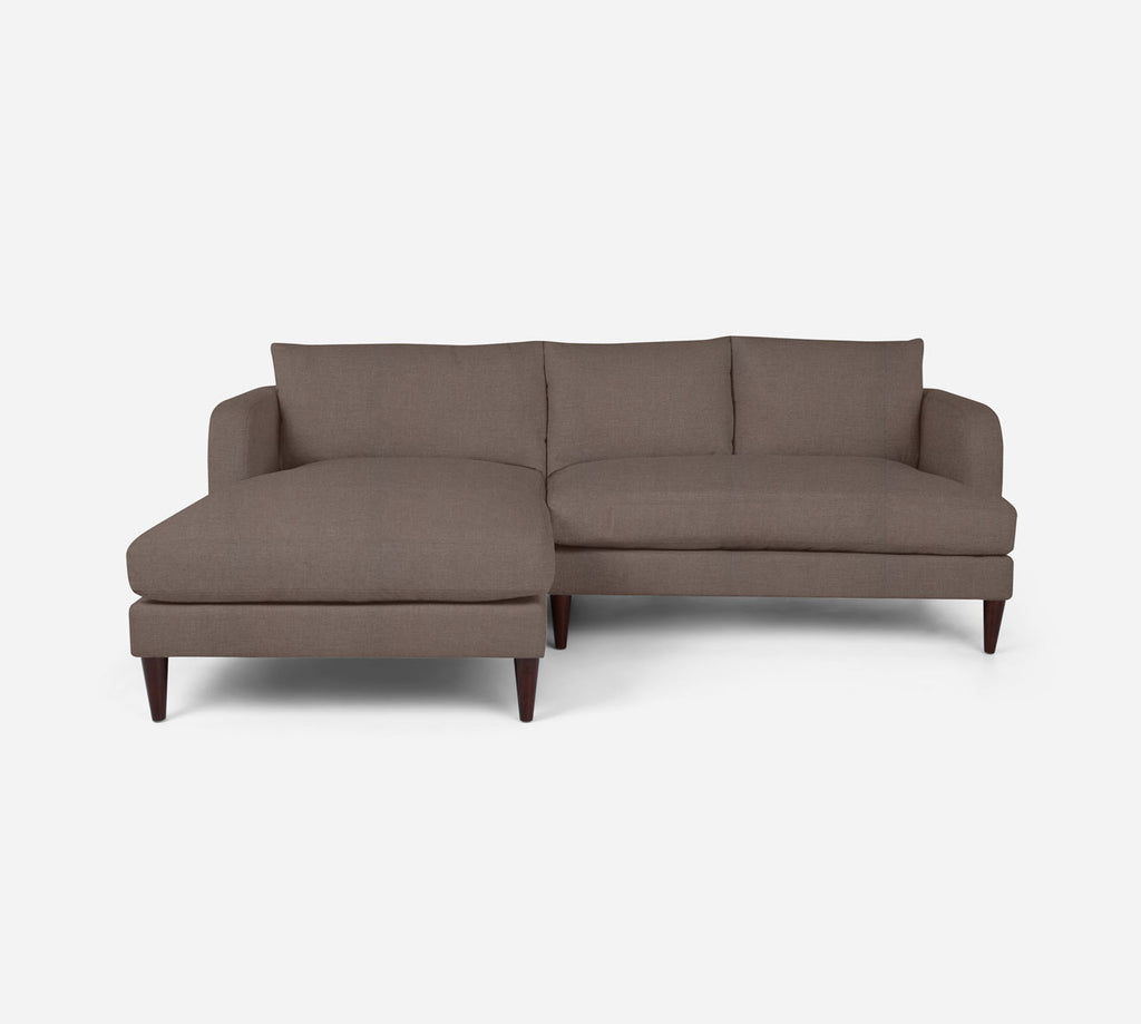 Cybil RAF Sectional Apt Sofa w/ Chaise - Heritage - Pebble