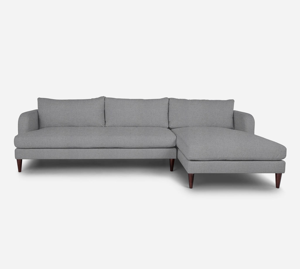 Cybil LAF Sectional Sofa w/ Chaise - Coastal - Ash