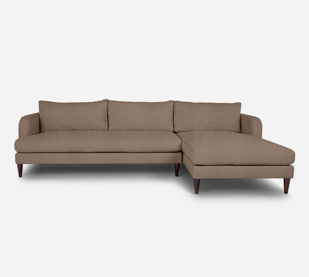 Cybil LAF Sectional Sofa w/ Chaise - Coastal - Cashew