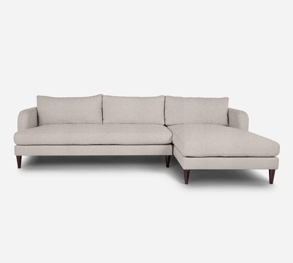 Cybil LAF Sectional Sofa w/ Chaise - Coastal - Sand