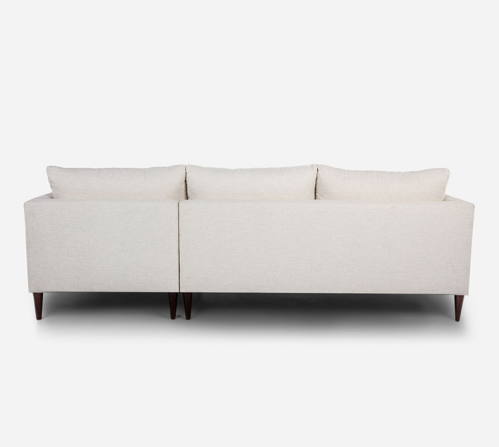 Cybil LAF Sectional Sofa w/ Chaise - Heritage - Ivory