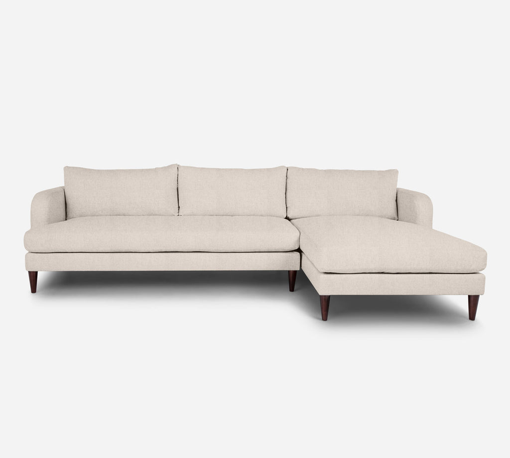 Cybil LAF Sectional Sofa w/ Chaise - Kenley - Canvas