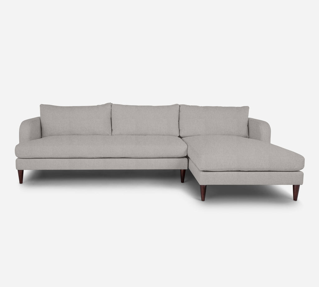 Cybil LAF Sectional Sofa w/ Chaise - Kenley - Moondust