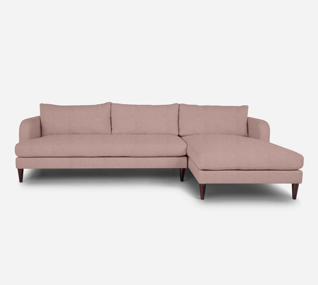 Cybil LAF Sectional Sofa w/ Chaise - Kenley - Quartz