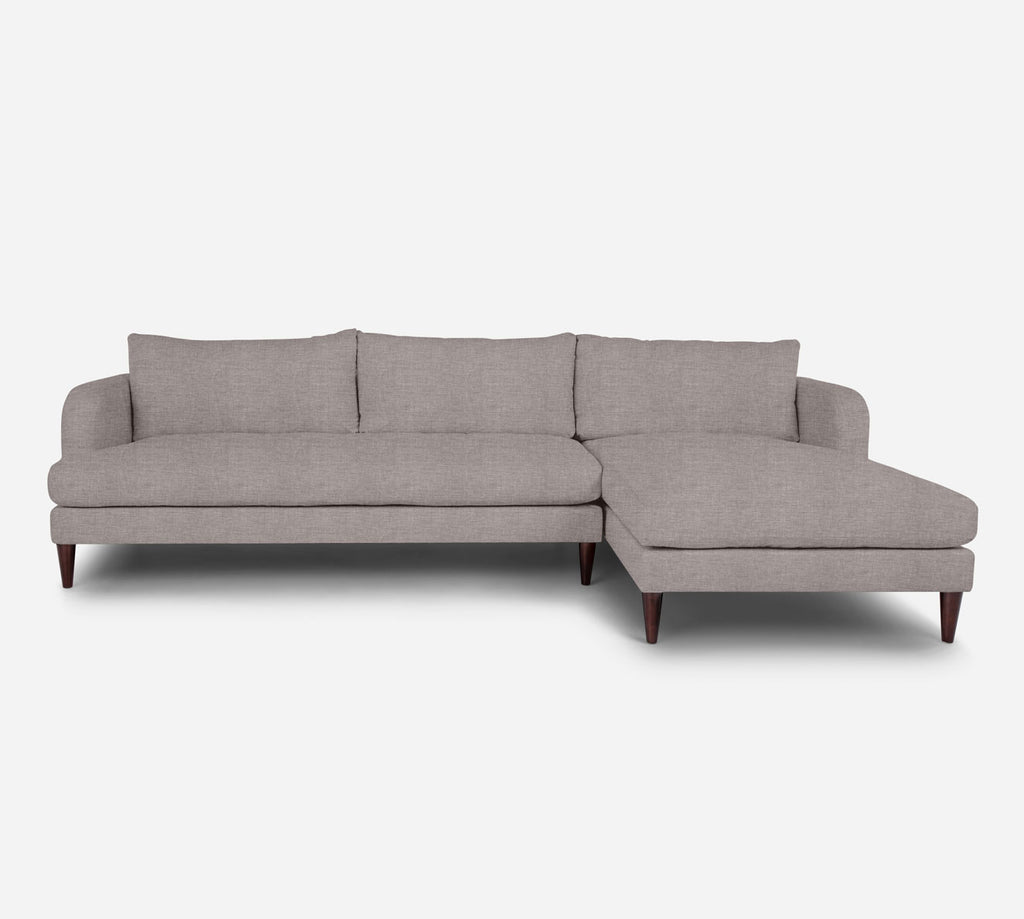 Cybil LAF Sectional Sofa w/ Chaise - Key Largo - Almond
