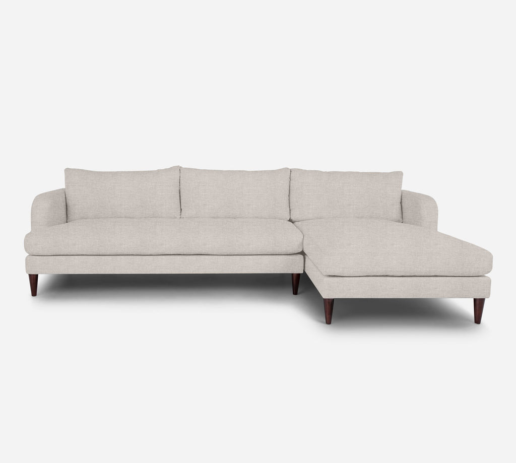 Cybil LAF Sectional Sofa w/ Chaise - Key Largo - Oatmeal