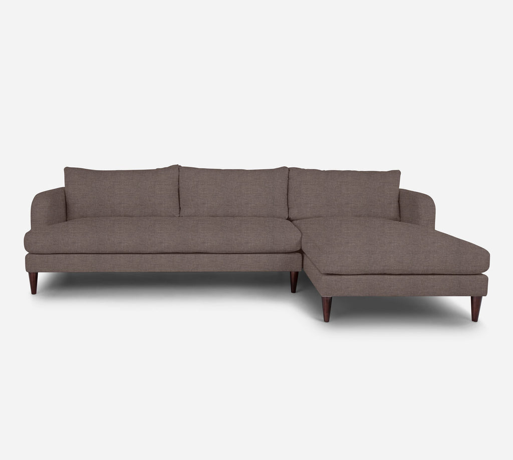 Cybil LAF Sectional Sofa w/ Chaise - Key Largo - Pumice
