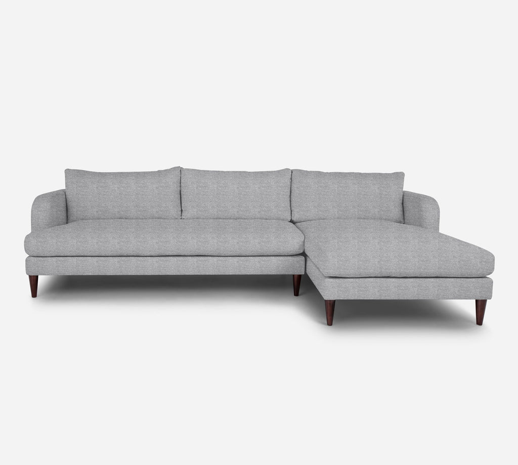 Cybil LAF Sectional Sofa w/ Chaise - Stardust - Domino