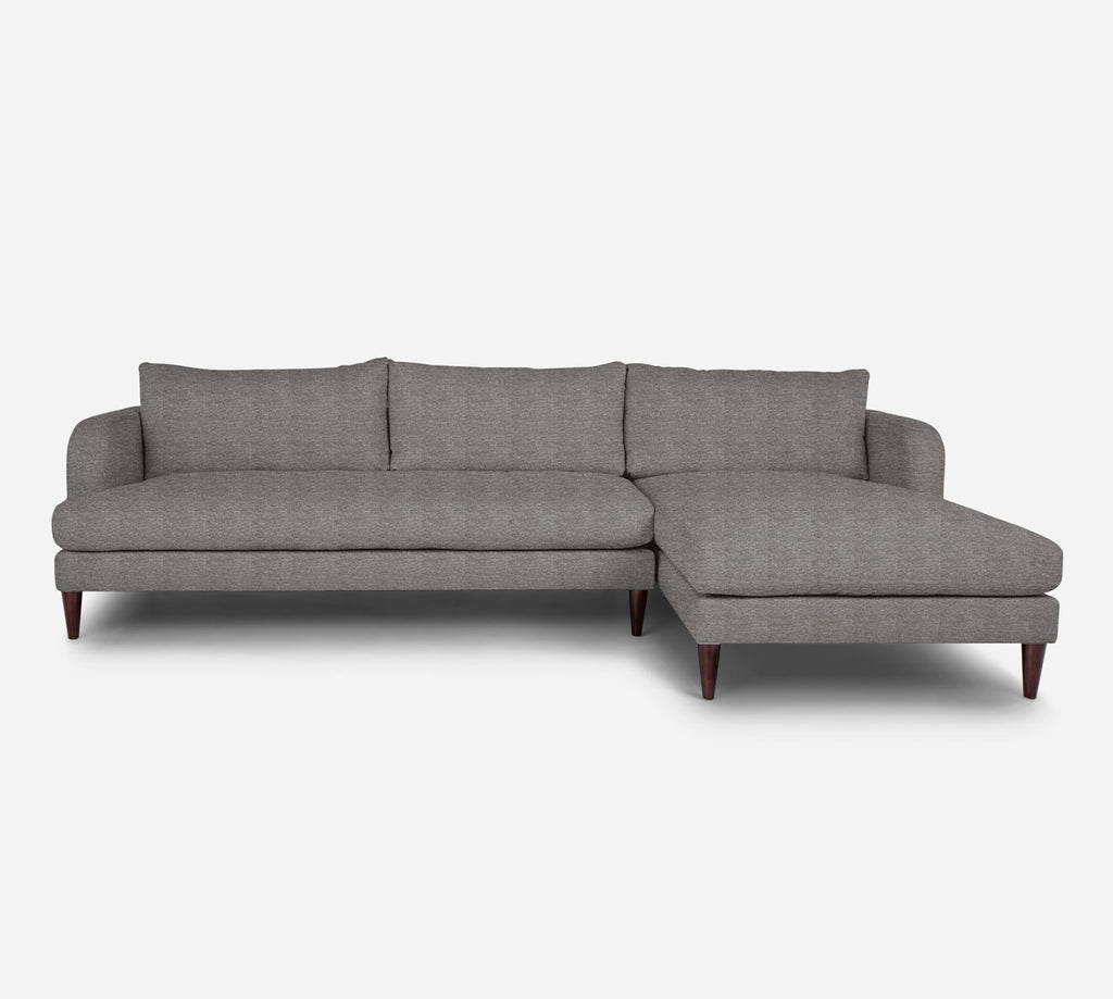 Cybil LAF Sectional Sofa w/ Chaise - Stardust - Fossil