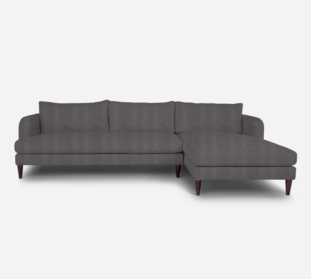 Cybil LAF Sectional Sofa w/ Chaise - Theron - Concrete