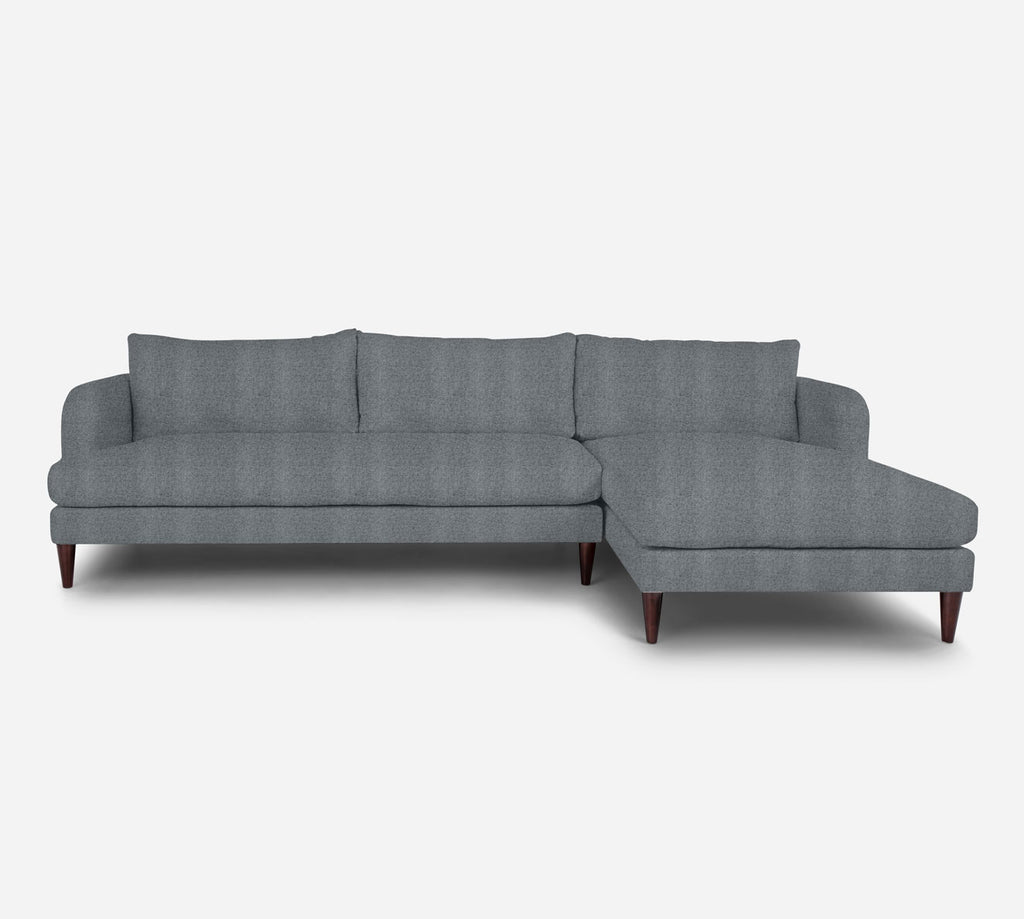 Cybil LAF Sectional Sofa w/ Chaise - Theron - Haze