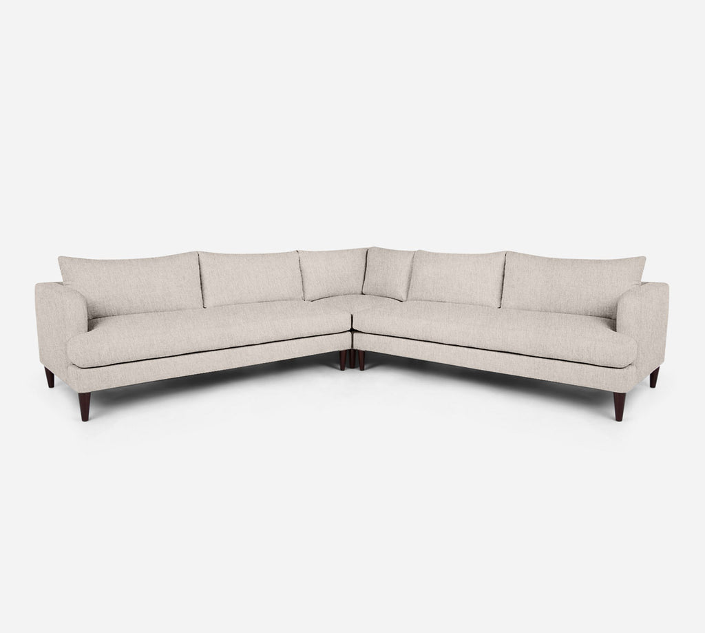 Cybil Large Corner Sectional - Kenley - Canvas