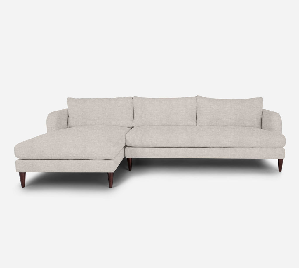 Cybil RAF Sectional Sofa w/ Chaise - Key Largo - Oatmeal