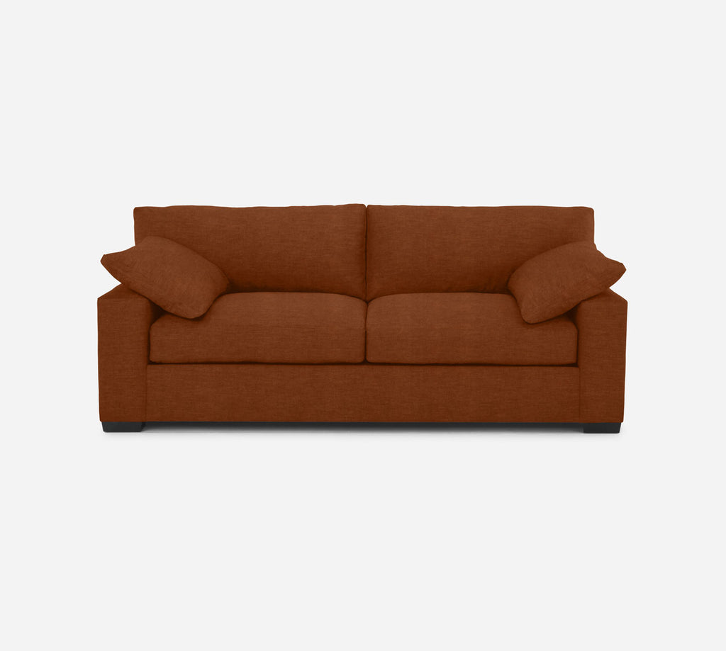Kyle Sofa - Passion Suede - Rust
