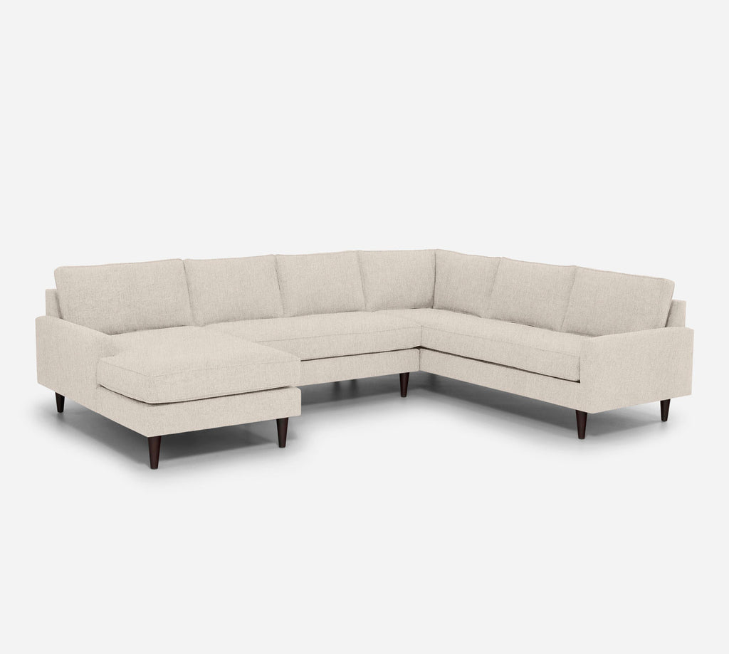 Holland LAF Chaise Corner Sectional - Kenley - Canvas