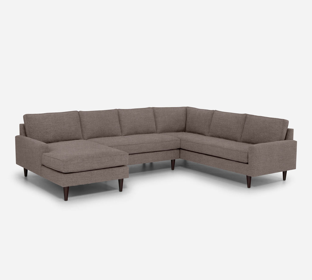 Holland LAF Chaise Corner Sectional - Key Largo - Pumice
