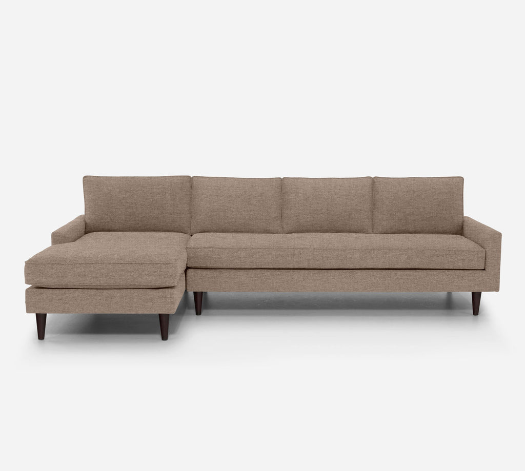 Holland LAF Chaise Sectional - Coastal - Cashew