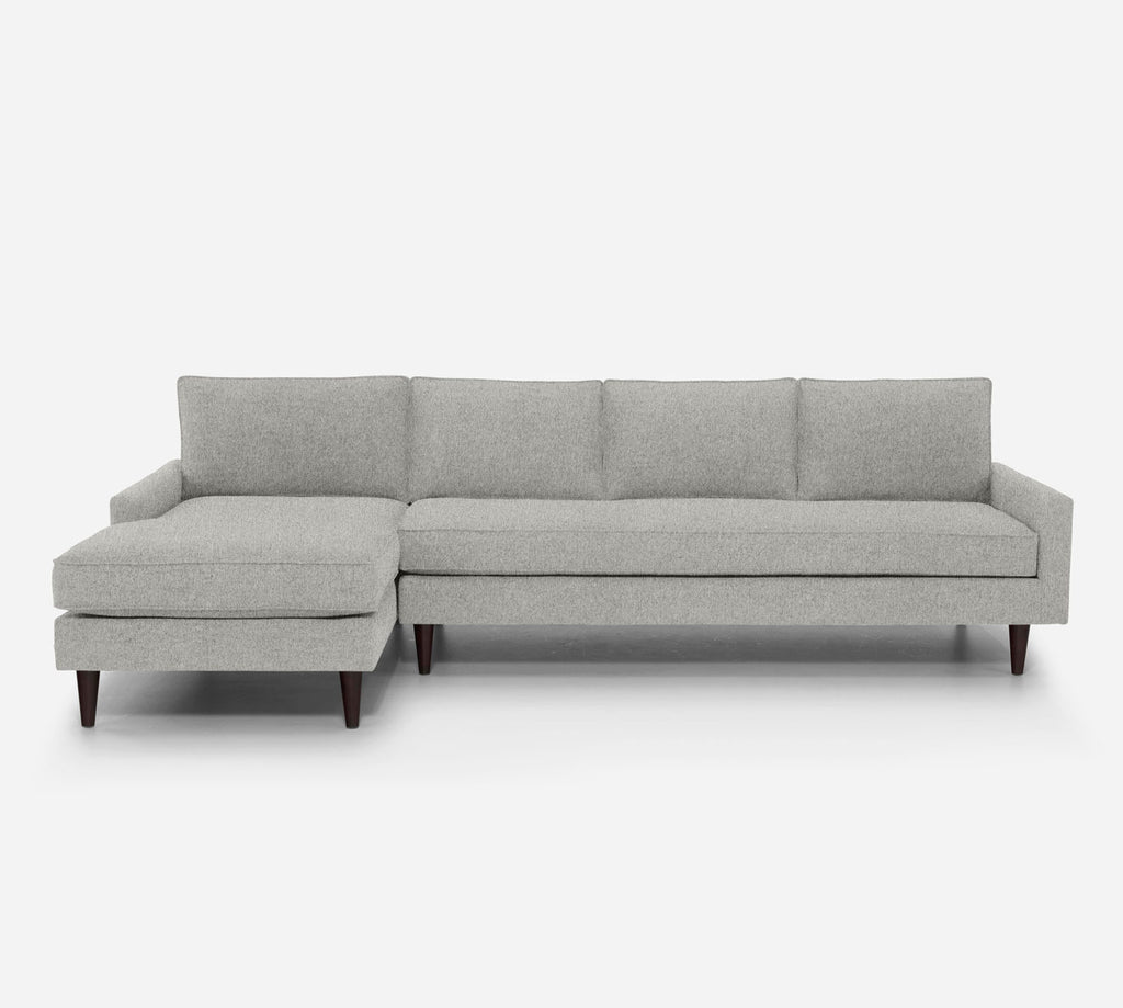 Holland LAF Chaise Sectional - Dawson - Oatmeal