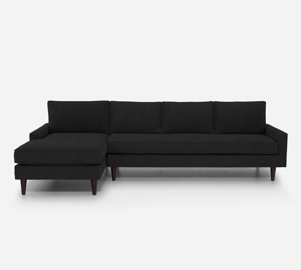 Holland LAF Chaise Sectional - Heritage - Charcoal