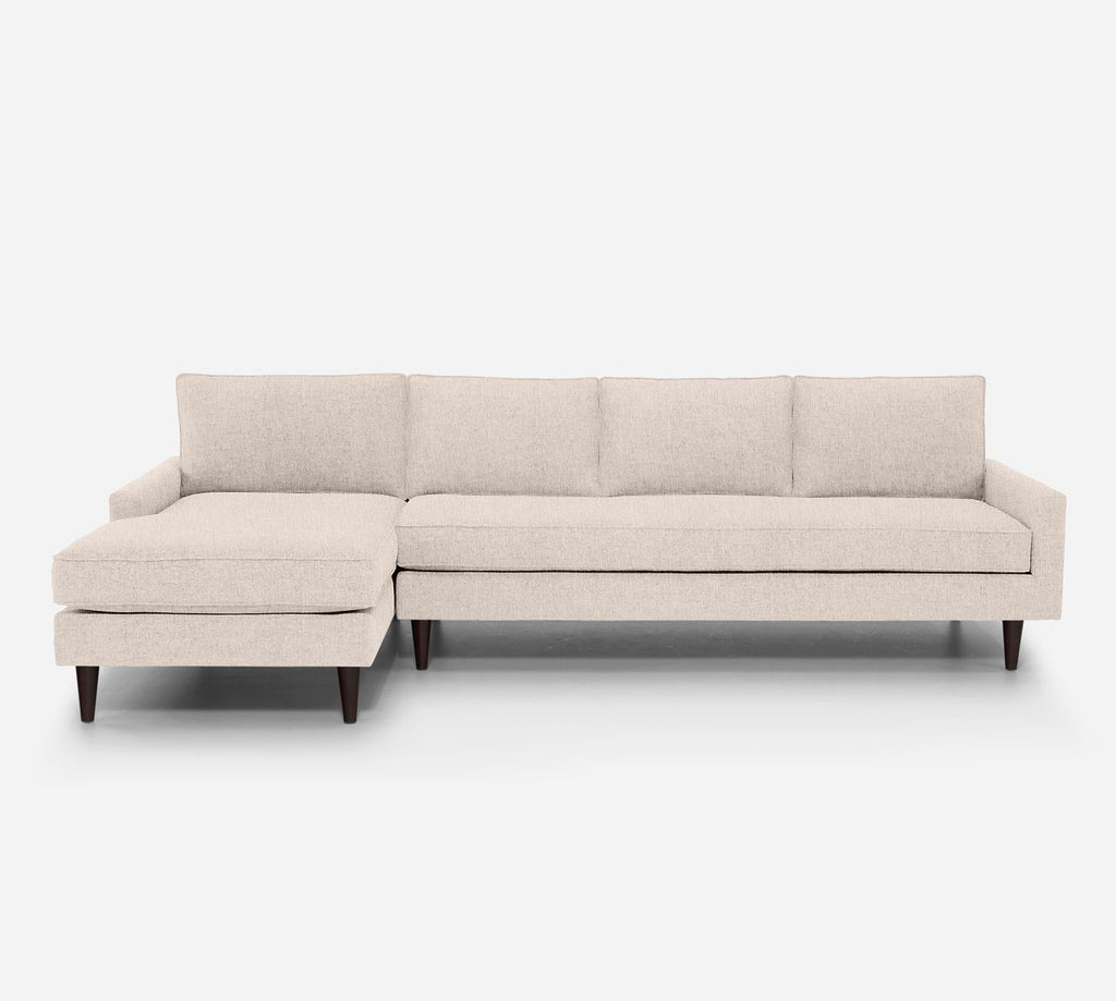 Holland LAF Chaise Sectional - Kenley - Canvas