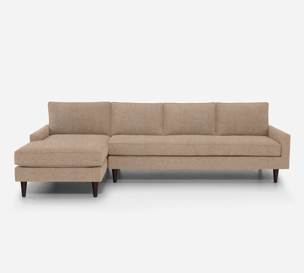 Holland LAF Chaise Sectional - Kenley - Ecru