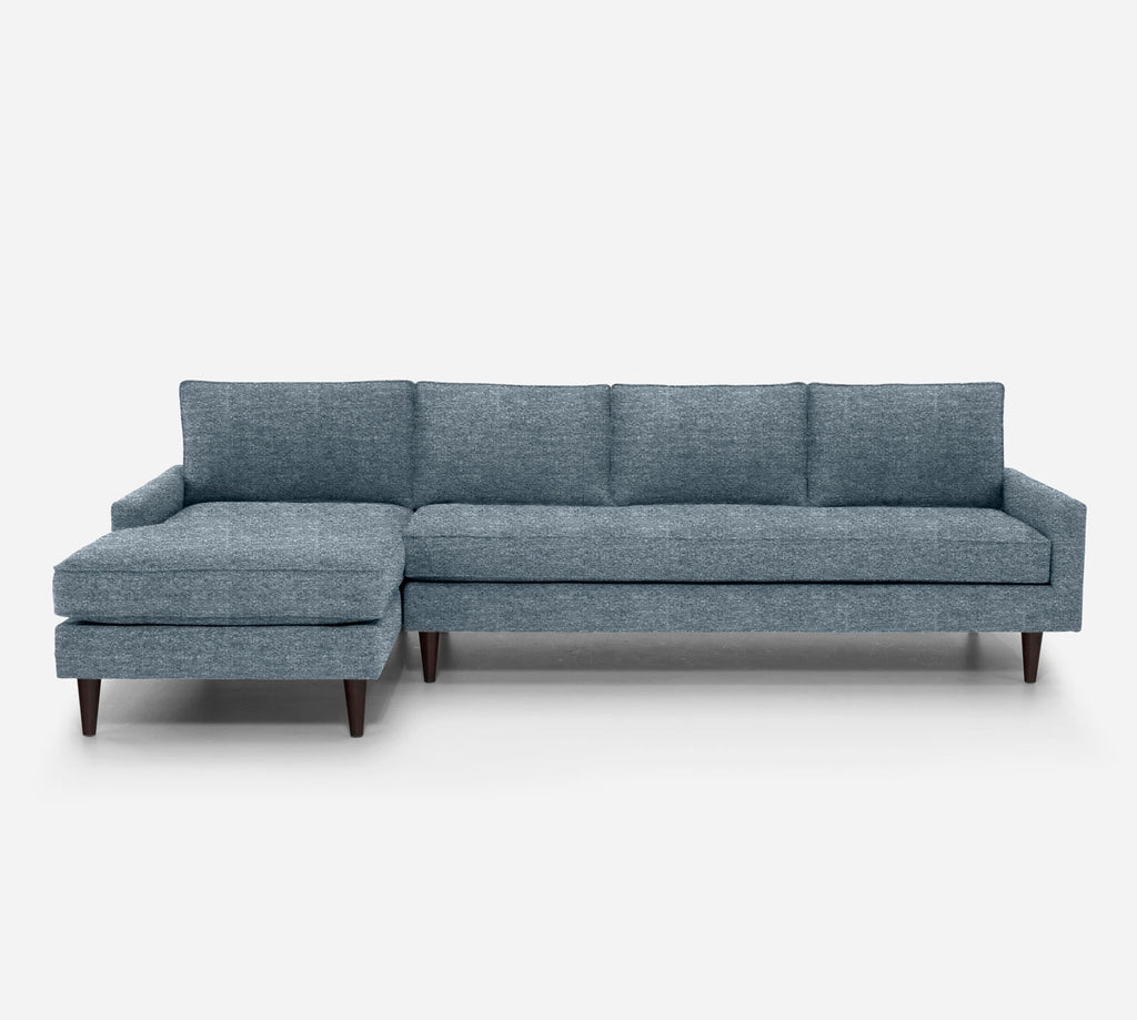 Holland LAF Chaise Sectional - Stardust - Lapis