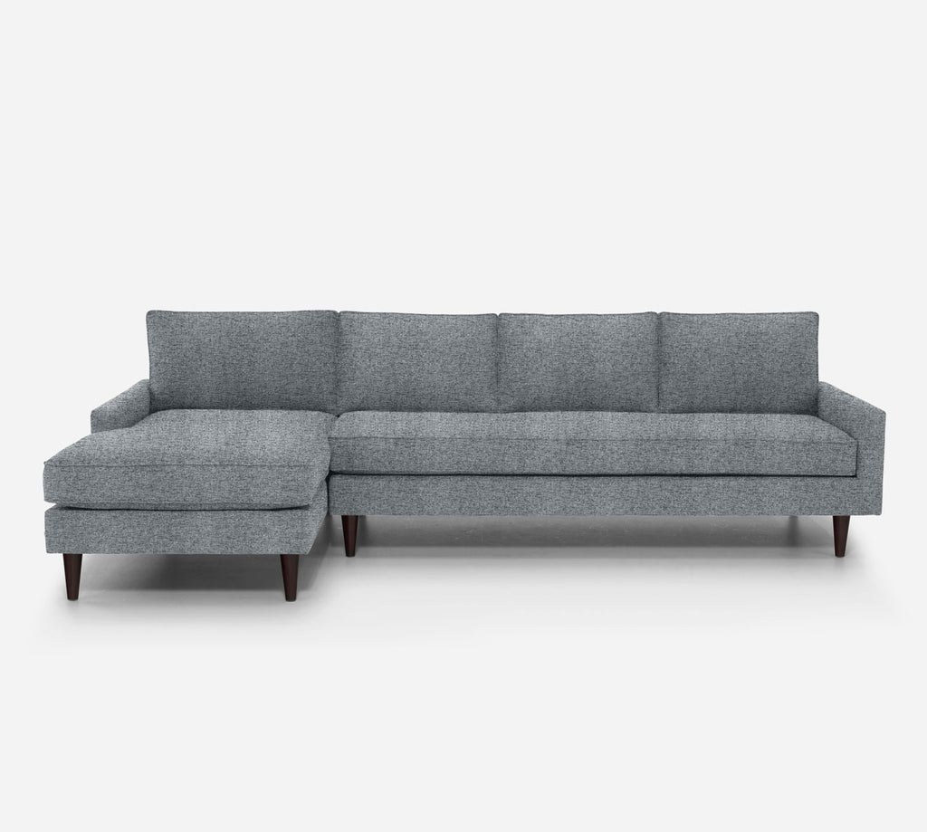 Holland LAF Chaise Sectional - Theron - Haze