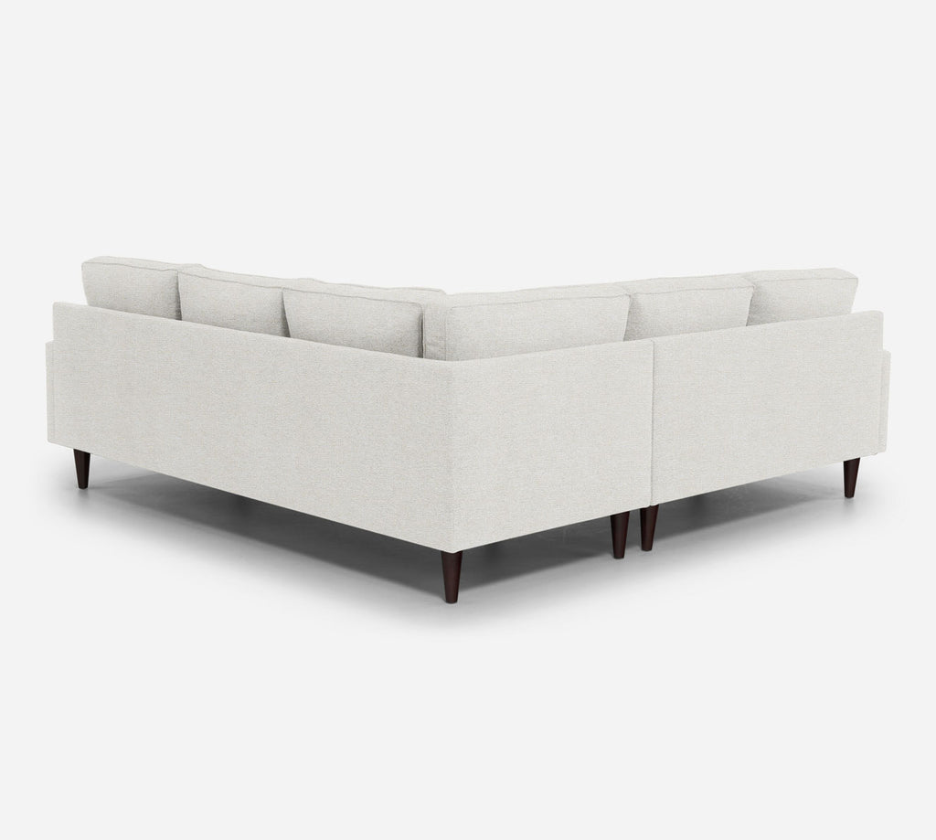 Holland LAF Corner Sectional - Stardust - Ivory