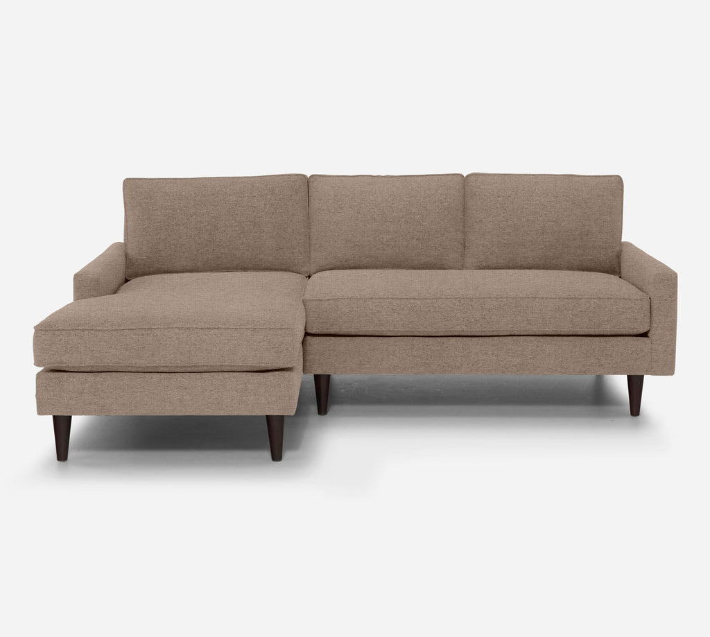 Holland Sectional Apartment Sofa w/ LAF Chaise - Coastal - Cashew
