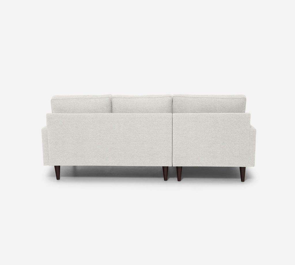 Holland LAF Chaise Sectional - Stardust - Ivory