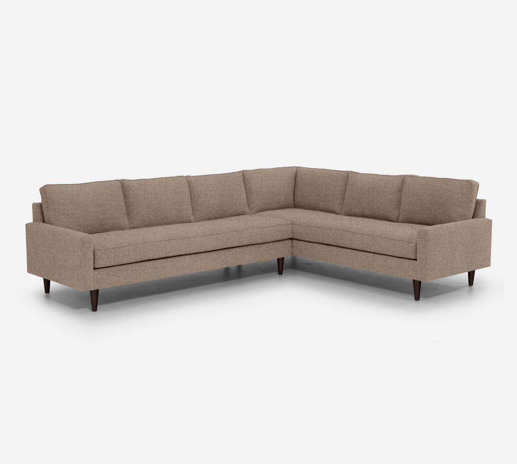 Holland LAF Large Corner Sectional - Coastal - Cashew