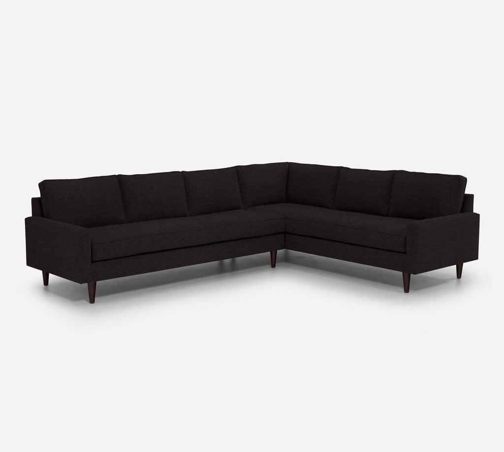 Holland LAF Large Corner Sectional - Coastal - Espresso