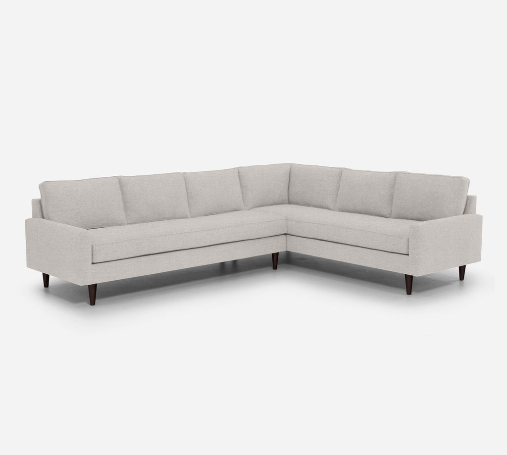 Holland LAF Large Corner Sectional - Heritage - Ivory
