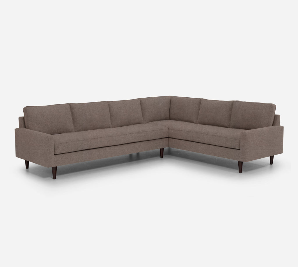 Holland LAF Large Corner Sectional - Heritage - Pebble