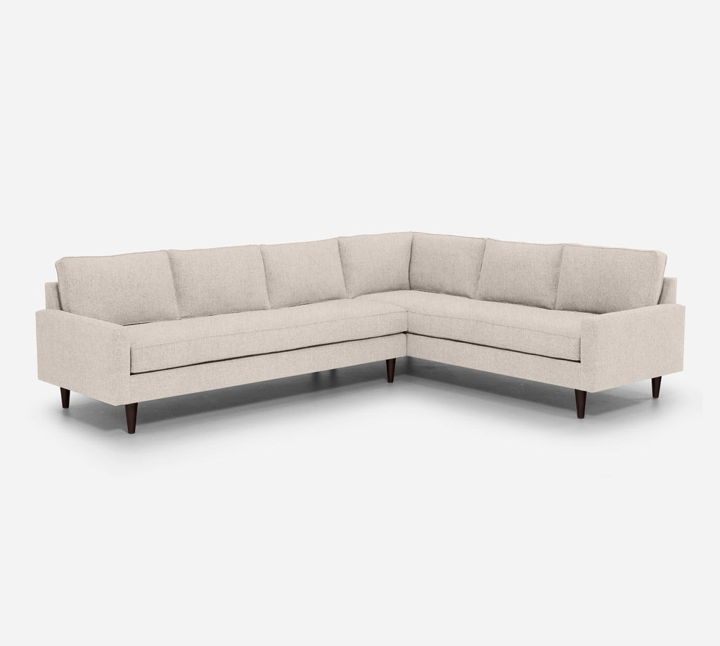 Holland LAF Large Corner Sectional - Kenley - Canvas