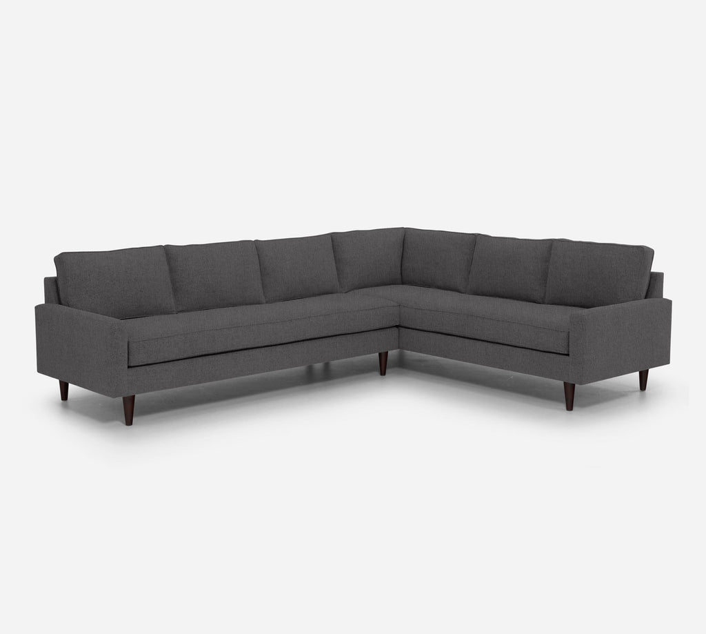 Holland LAF Large Corner Sectional - Kenley - Silversage