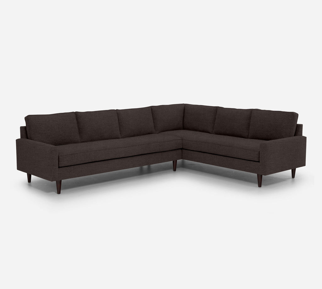 Holland LAF Large Corner Sectional - Key Largo - Mocha
