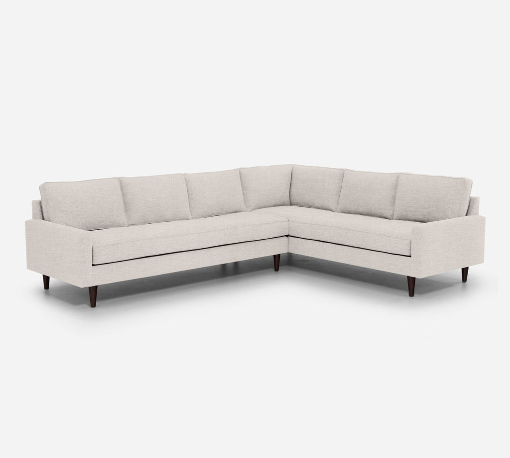 Holland LAF Large Corner Sectional - Key Largo - Oatmeal
