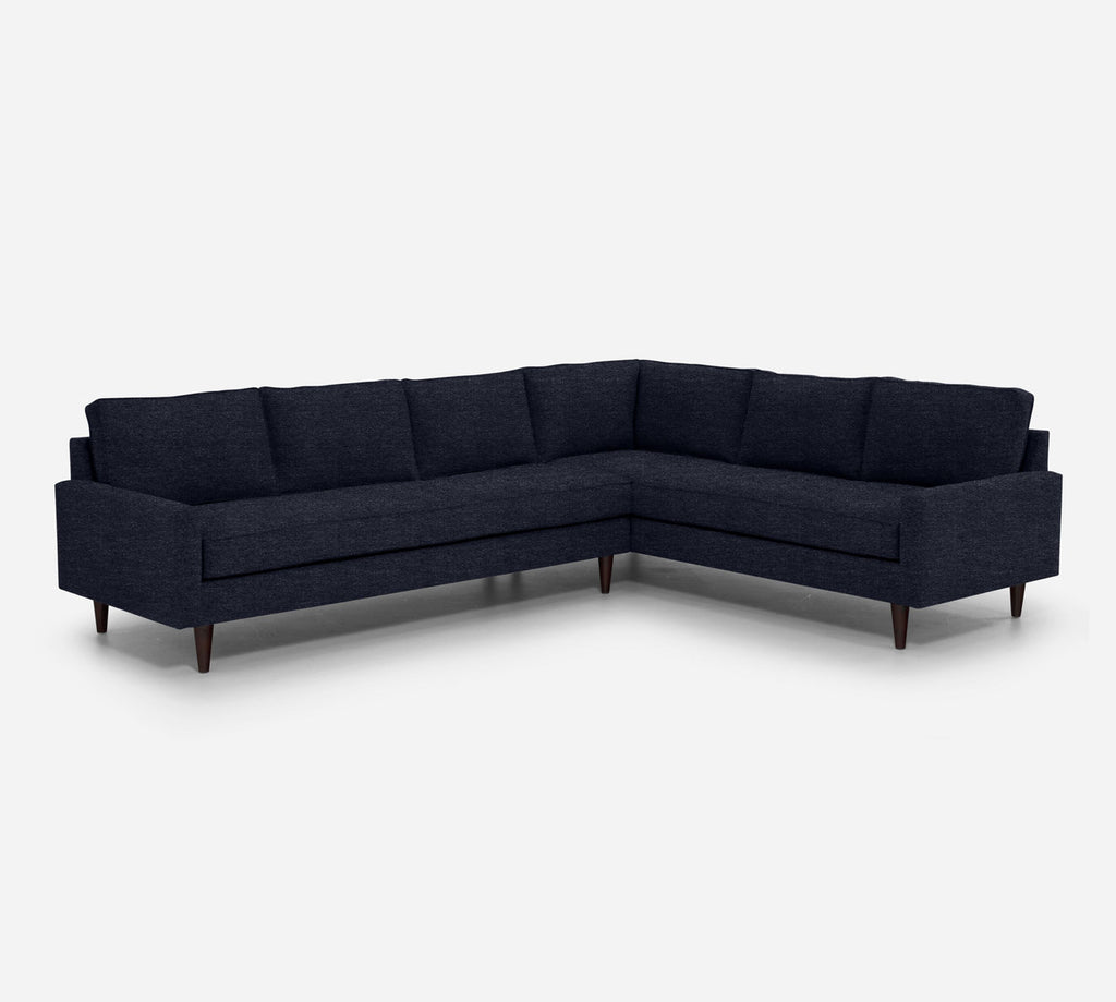 Holland LAF Large Corner Sectional - Stardust - Midnight