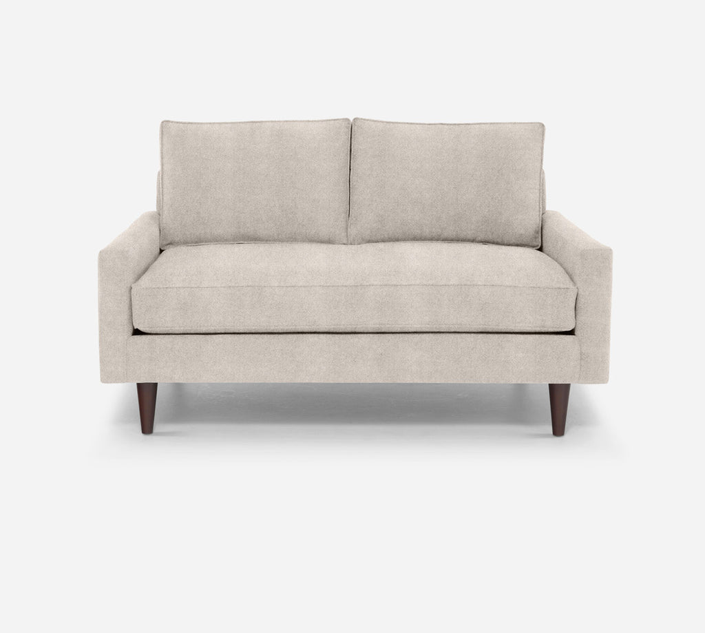 Holland Loveseat - Passion Suede - Oyster