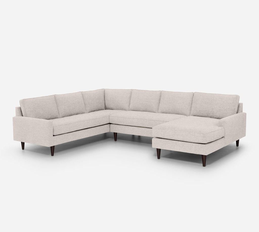 Holland RAF Chaise Corner Sectional - Coastal - Sand