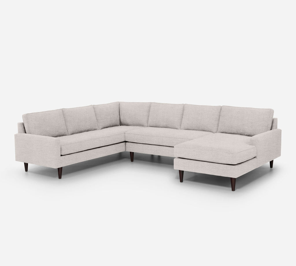 Holland RAF Chaise Corner Sectional - Key Largo - Oatmeal