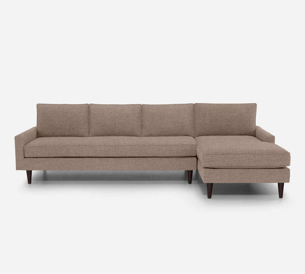 Holland RAF Chaise Sectional - Coastal - Cashew