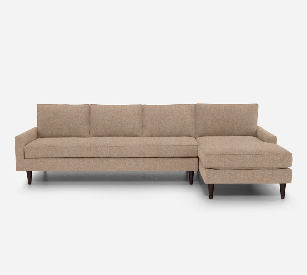 Holland RAF Chaise Sectional - Kenley - Ecru